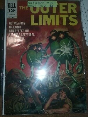The Outer Limits #17 Oct. 1968 Reprints #1  F  Comic