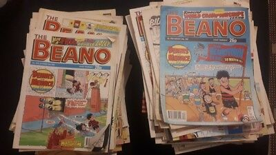 Massive collection of 210 vintage Beano comics