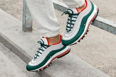 NIKE AIR MAX 97 'South Beach' Tidal Wave UK 10 Miami Green