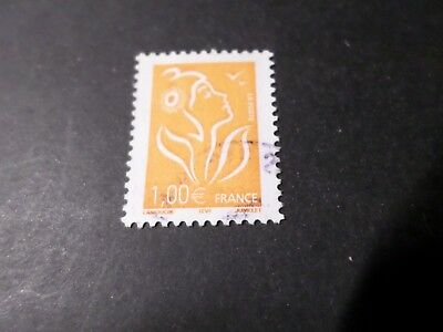 FRANCE 2005, timbre 3739, MARIANNE LAMOUCHE, CACHET ROND oblitéré, VF used STAMP