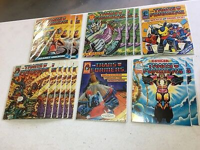 (15) 1988 The Transformers (UK) issues