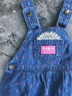 Osh kosh Overalls Size 24 Months made In Usa