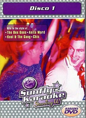 NEU/OVP: Sunfly Karaoke DVD: Disco Bee Gees Village People Gloria Gaynor Chic