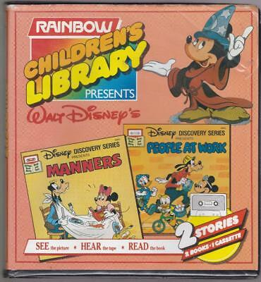 Rainbow Children's Library Cassette and Book Set - Disney