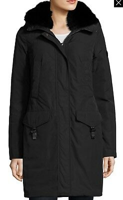 Peuterey Felicity Fur-trim water-repellant down jacket 42 US1100