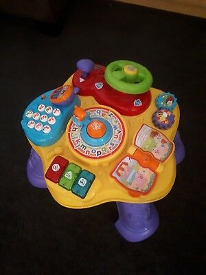 VTech Baby Play and Learn Activity Table Child Educational Toy 6 - 36 months