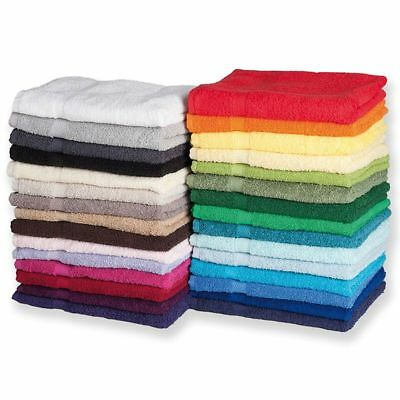 3x 5x 10x Pack 100% Cotton Kitchen Tea Towel Dishcloth 550 GSM Hotel Quality
