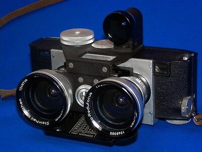 Realist Stereo Camera Steinheil Munchen Wide Angle Lens ST513 for 3.5 or 2.8