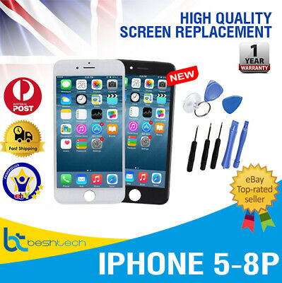 AAA+ Grade Touch Screen LCD Replacement Digitizer Assembly iPhone 5,6,6S,6+,8,8P