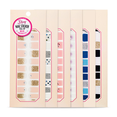 [Etude House] Play Nail Sticker Full Tip Collection (6 pcs)