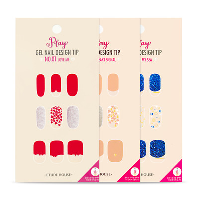 [Etude House] Play Gel Nail Design Tip Collection (6pcs)