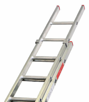 Lyte Aluminium Extension Ladders Double / 2 Section DIY BS2037 Class 3 UK Made