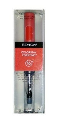 Revlon ColorStay Overtime 16 Hour Lipcolor 020 Constantly Coral