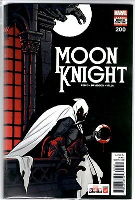 Marvel Comics MOON KNIGHT #200 LOT OF 5 DEALER WHOLESALE $4.99 COVER PRICE