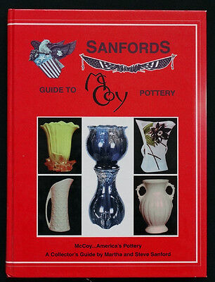 SANFORDS Guide to ANTIQUE Vintage McCOY ART POTTERY Hardback Reference Book