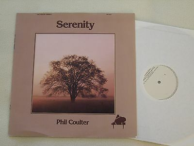 PHIL COULTER - Serenity - Rare white Label Promo LP