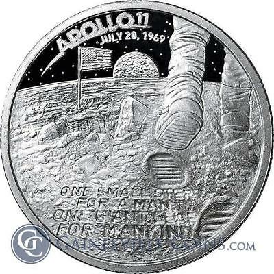 1 - 1 oz .999 Silver Round - Apollo 11 Moon Landing - Brilliant Uncirculated