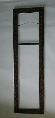 Very Nice Antique Large Art Picture Carved Frame Solid Wood Victorian