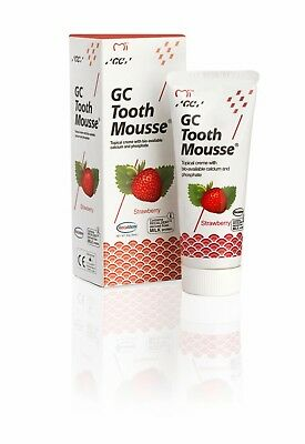 Absolument Neuf Alcadent GC Tooth Mousse Dentifrice Strawberry Fraise 40g