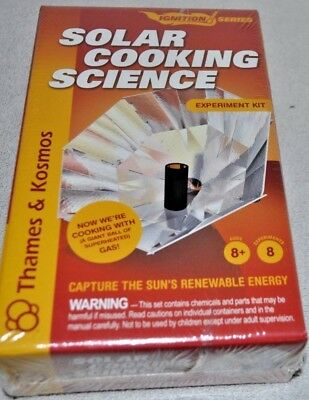 Solar Cooking Science by Thames & Kosmos Science Project Experiment Kit STEM