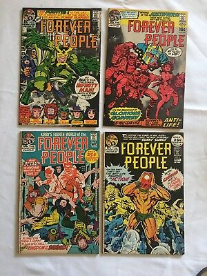 Forever People #2-5 DC Comics 1971