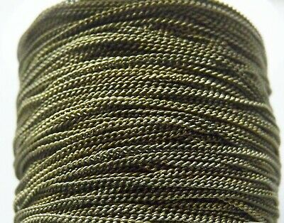 1M Open Curb Link Chains for Necklaces Bracelets 3.3 feet Bronze Tone 3x2mm