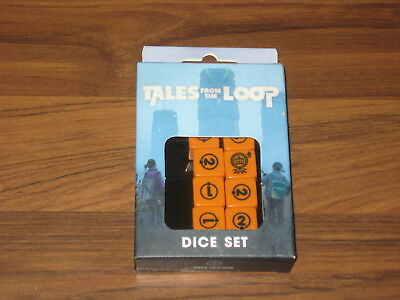 Cthulhu Horror on Orient Express  Dice Set New Chaosium 2015