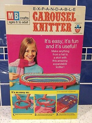 Vintage MB Crafts Carousel Knitter - Boxed and Complete