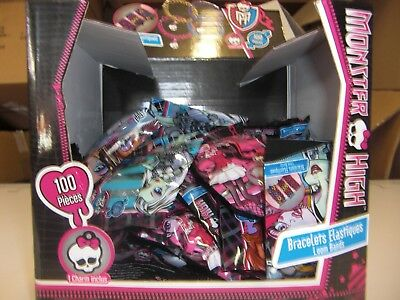 LOT REVENDEUR SOLDERIE DESTOCKAGE de 6 PRESENTOIRS DE 36 BRACELETS MONSTER HIGH