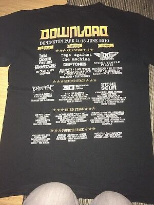DOWNLOAD FESTIVAL T shirt from 2010 - size M
