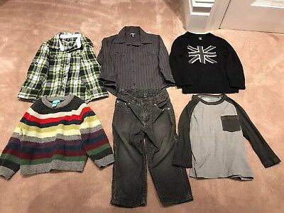 be7af1265 BABY BOYS 18-24 Months Baby Gap Checked Shorts Bundle Summer Clothes ...