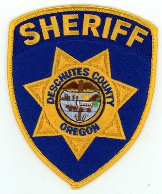 Deschutes County Sheriff Oregon Or Patch Police Colorful