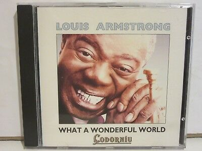 Louis Armstrong - What A Wonderful World - CD PROMO - 1993 - Spain - NM+/EX+