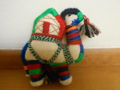 Organic Handcrafted in Kazakhstan Camel. Christmas Ornament. Nativity Scene