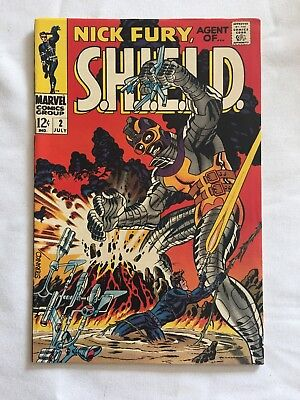Nick Fury Agent Of Shield #2 Marvel 1968) Steranko Cover