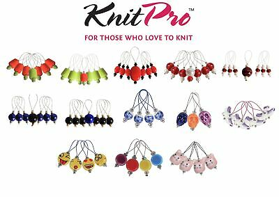 KnitPro Zooni Bead Stitch Markers - Assorted Designs - Knitting Crochet
