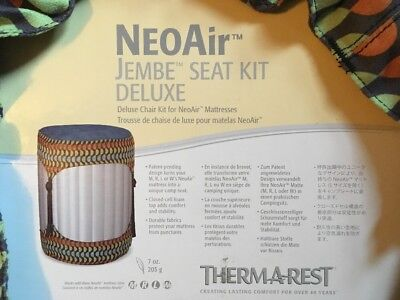 Thermarest NeoAir Jembe Seat Kit Deluxe for Camping Sleeping Pad Mattress