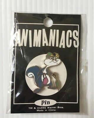 Slappy Squirrel Animaniacs Pin 1996 New in Original Packaging Warner Bros Studio