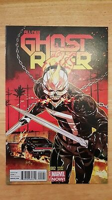 All New Ghost Rider #2 (2014) 1:50 Felipe Smith Variant, Very Rare + Hard To...