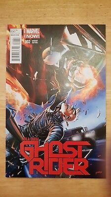 All New Ghost Rider #2 (2014) 1:25  Pop Mhan Variant Cover, Rare + Hard To Find