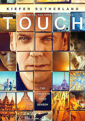Touch: The Complete Season One (DVD, 2012, 3-Disc Set) BRAND NEW! FACT SEALED!