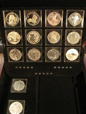 2013 Canada - RCM - The Fabulous 15 - Pure Silver Rounds set - 15 Rounds