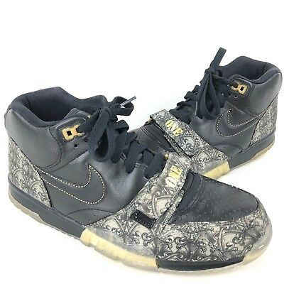 """huge discount b68ce 310dc Nike Air Trainer 1 MID PRM QS """"Paid In Full"""" 607081 002 Mens Shoes"""