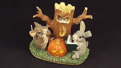 """Charming Tails """"Ghost Stories"""" Mouse and Bunny  85/703"""