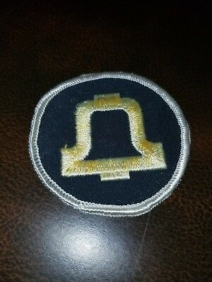 Vintage Bell System Telephone Embroidered Patch