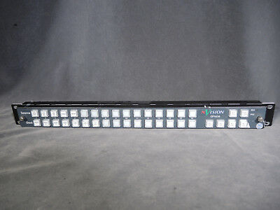 Grass Valley CP1616 NVISION Router Control Panel  by Miranda