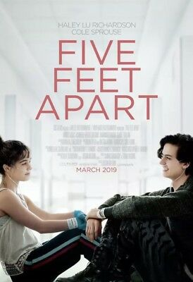 Five Feet Apart 2019 Original DS 27x40 Theater Movie Poster