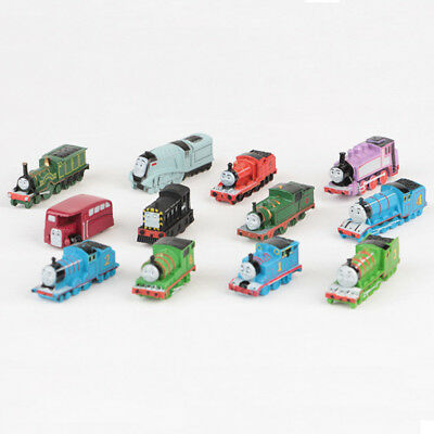 Thomas And His Friends Trains 12 PCS Train Figure Cake Topper Kids Gift Doll Toy