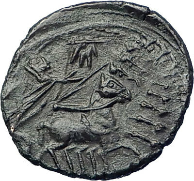 CONSTANTINE the GREAT Heaven Horse Chariot Ancient Roman Coin Hand of God i73440