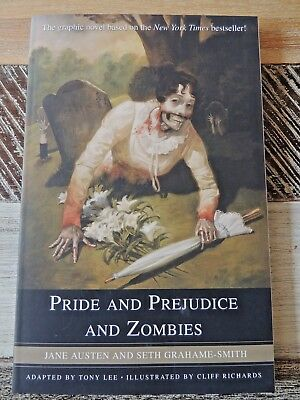 Pride and Prejudice and Zombies - Graphic Novel  Cliff Richards Illustrator 2010